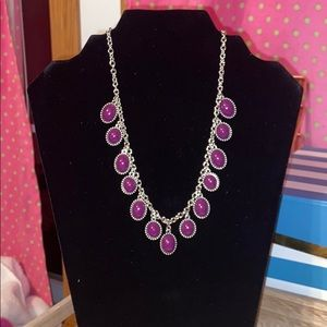 Cute Purple Bead necklace!
